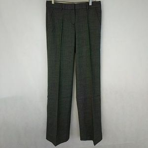 Theory wool blend slant pocket trousers sz 0